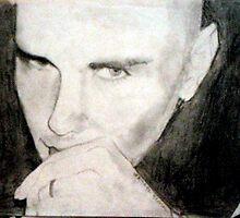 Portrait of Billy Corgan by Rachel Black