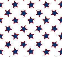 american flag stars background by robertosch