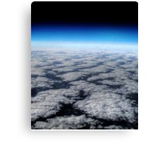High above the clouds horizon  Canvas Print