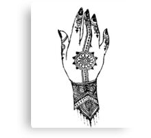 Hand of delicacy. By Ane Teruel.  Canvas Print