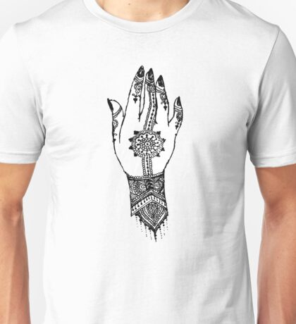 Hand of delicacy. By Ane Teruel.  Unisex T-Shirt