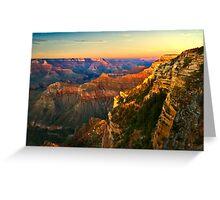 Sunset at Grand Canyon National Park, Arizona Greeting Card