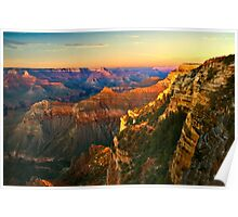 Sunset at Grand Canyon National Park, Arizona Poster