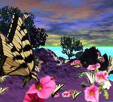 Swallowtail Island by maxy