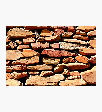Well placed stonework Photographic Print