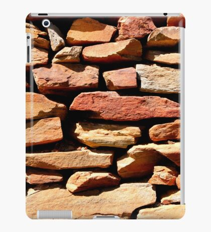 Well placed stonework iPad Case/Skin