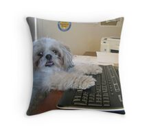 Can I Get Back To You On That? Throw Pillow