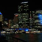 Sydney by Night by Michael John