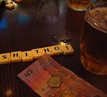 beer and scrabble by sophistacutz