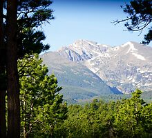 Sneak Peak to the Mountain by Clarky84
