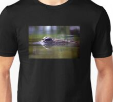 Crocodile in View Unisex T-Shirt