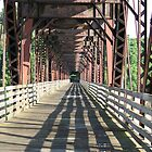 Under the Train Tressel by DebbieCHayes