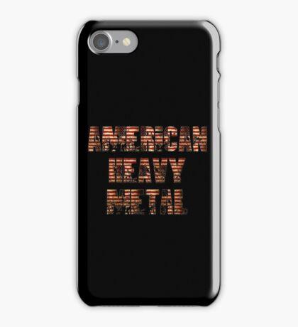 AMERICAN HEAVY METAL iPhone Case/Skin