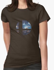 Cosmic Smash Ball Womens Fitted T-Shirt