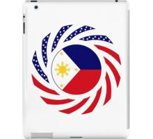 Filipino American Multinational Patriot Flag Series 1.0 iPad Case/Skin