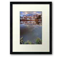 """""""From the Bank"""" Framed Print"""