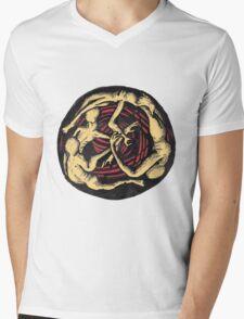 Spiralling Descent by Brian Benson Mens V-Neck T-Shirt