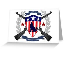 Howling Commandos Insignia (Color) Greeting Card