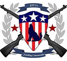 Howling Commandos Insignia (Color) Photographic Print