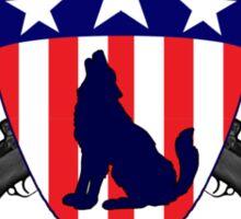 Howling Commandos Insignia (Color) Sticker