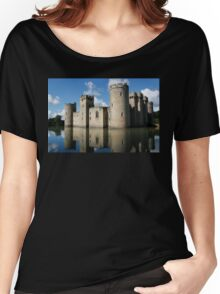 The Medieval Bodiam Castle in England Women's Relaxed Fit T-Shirt