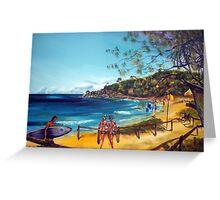 Agnes Water Beach QLD AUS Greeting Card