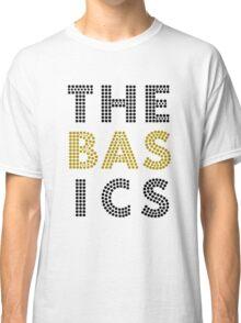 """The Basics"" - Wait For You design (black & gold) Classic T-Shirt"