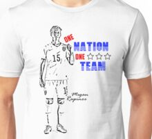 One Nation, One Team - Megan Rapinoe Edition Unisex T-Shirt