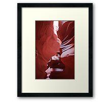 Upper Antelope Canyon #2 Framed Print