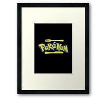Pokenom logo Framed Print