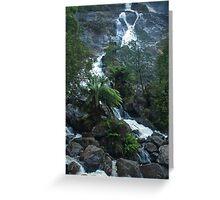 St Columba Falls Tasmania Greeting Card