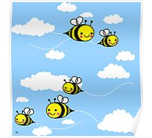 Cute As Can Bee Poster