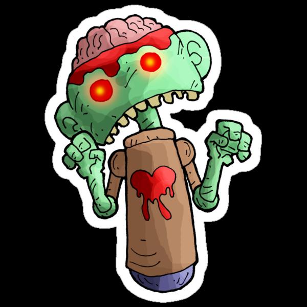 zombie toy... by kangarookid