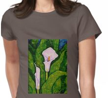 Callas Lilies  Womens Fitted T-Shirt