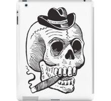 Skull & Cigar  iPad Case/Skin