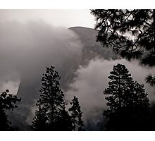 obscured by clouds Photographic Print