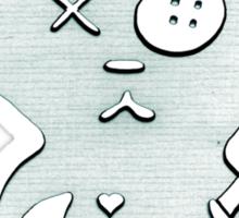 mugi murder Sticker