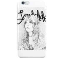 Stevie Nicks Landslide Lyrics iPhone Case/Skin