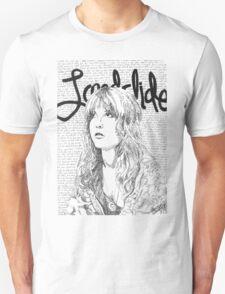 Stevie Nicks Landslide Lyrics Unisex T-Shirt