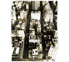 Above New York City Poster