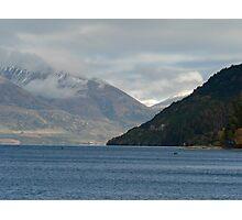 Lake Wakatipu, Queenstown Photographic Print