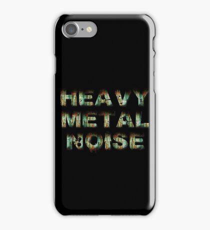 HEAVY METAL NOISE iPhone Case/Skin