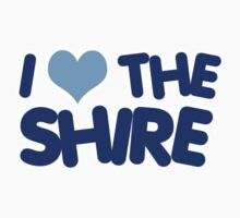 I Heart The Shire by shireshirts