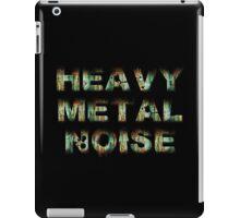 HEAVY METAL NOISE iPad Case/Skin