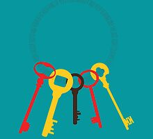 Fun Home - Ring of Keys by traS(M)H Designs