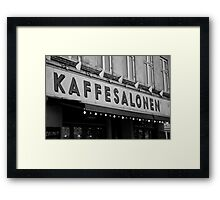 The Saloon Framed Print