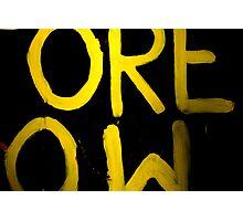 ORE OW Photographic Print