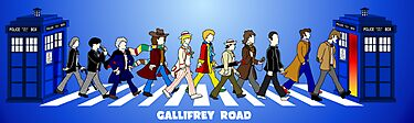 Gallifrey Road Redux... by Monstar