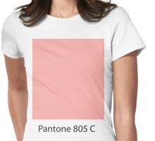 pantone Womens Fitted T-Shirt