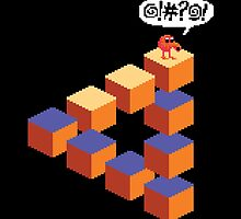 Q*bert's Conundrum by LoganAgle
